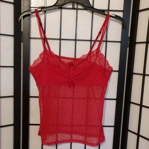 Other - Red  Sexy Lingerie Top sz S